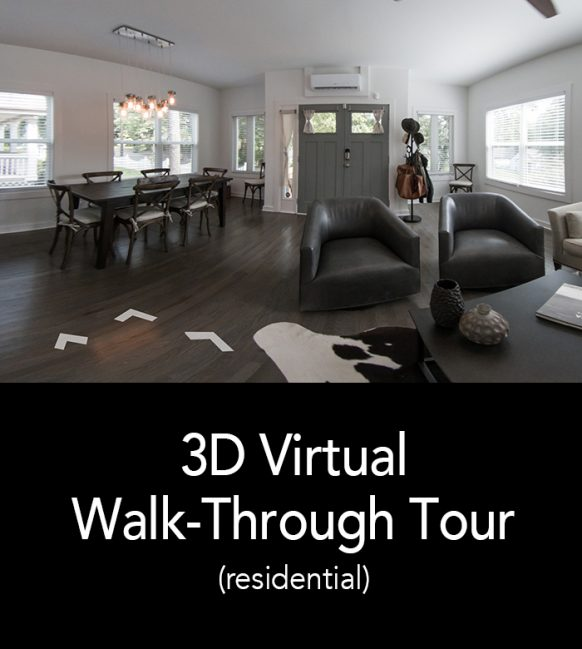 3D Virtual Walk-Through Tour