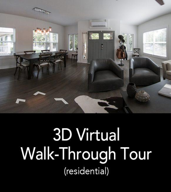 3D Virtual Walk-Through Tour